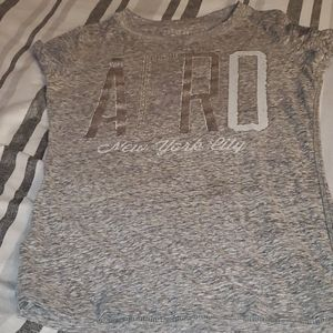 Areopostale small gray t shirt small